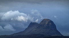Suilven in the rain (cliveg004) Tags: suilven assynt westhighlands scotland mountain rain cloud storm outdoor rural countryside wilderness