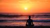 Sunrise (Halans) Tags: australia active beach fun health leasure lifestyle ocean recreation sand sea sport summer sun sunrise travel vacation water waves woman yoga curlcurl fav fav17