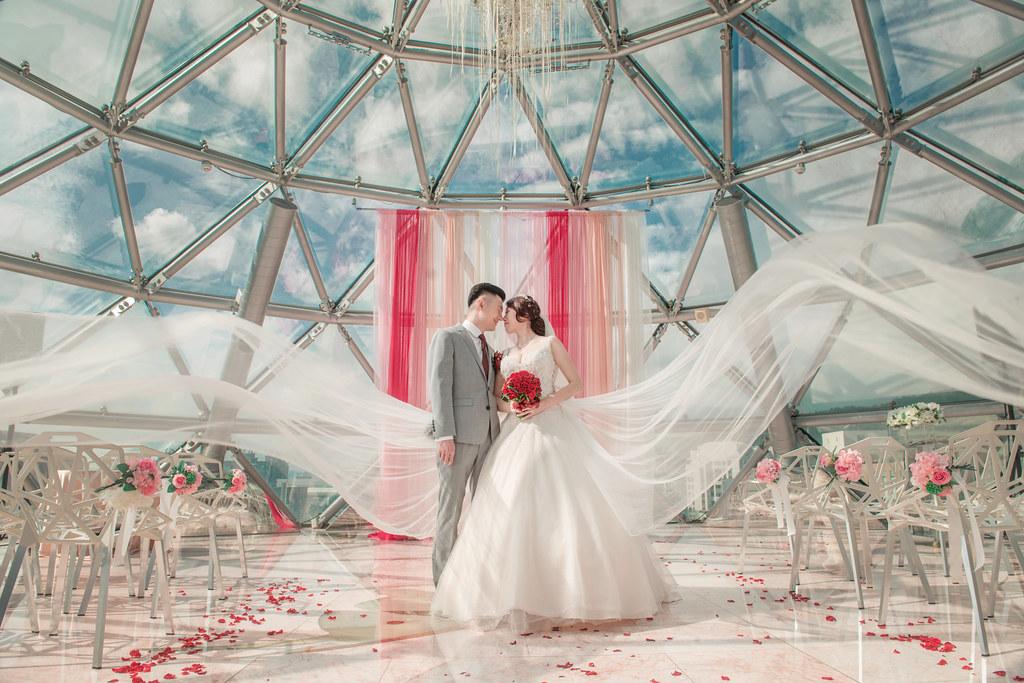 婚攝巴西龜,大直典華婚攝,大直典華飛碟教堂,大直典華圓頂教堂,飄紗