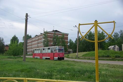 Irkutsk tram 71-605 SVt-1 ©  trolleway