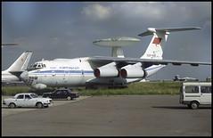 CCCP-76452 - Moscow Zhukovsky (ZHU) 17.08.2001 (Jakob_DK) Tags: 2001 maks2001 zia uubw moscow moscowzhukovsky gromov gromovflightresearchinstitute ilyushin ilyushin76 ilyushin76976 il76 il76976 candid cargo