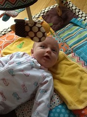 "Dani on Her Activity Mat • <a style=""font-size:0.8em;"" href=""http://www.flickr.com/photos/109120354@N07/32957388442/"" target=""_blank"">View on Flickr</a>"