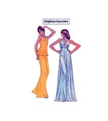 McCalls 4257 designer sleepwear (FindCraftyPatterns) Tags: mccalls4257 womenssleeperwear loungeoutfit lingerie longnightgown racerbacktop widelegpants camisole womensewingpattern