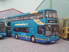 Shires 280 (quicksilver coaches) Tags: volvo olympian northerncounties palatine arriva theshires corgi ooc originalomnibuscompany 176 diecast model code3