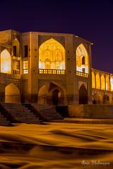 Khajoo Bridge (aminshahnazari) Tags: isfahan iran khajoo amin shahnazari night 6d 700200 long exposure zayandeh rood river اصفهان زاینده رود ایران عکاسی شب پل خواجو امین شاه نظری