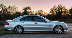 Sunset E55 Side (scrooge89) Tags: subset car mercedes amg e55