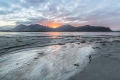 Lofoten sunset (SonjaS.) Tags: lofoten norwegen norway herbst autumn strand sunset sonnenuntergang wasser sand traum reine