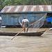 La pêche sur le Bassac (île du Tigre, Vietnam)