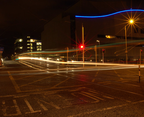 Dublin Night Time Dublin Docklands at Night Time