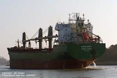 GARGANEY (9358383) (006-10.02.2013) (HWDKI) Tags: ship vessel schiff imo bulkcarrier garganey kielcanal sehestedt massengutfrachter delfs hanswilhelmdelfs 9358383