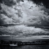 Waiting for the storm (Geir Vika) Tags: ocean sky black sailboat withe vika geir storme bildekritikk
