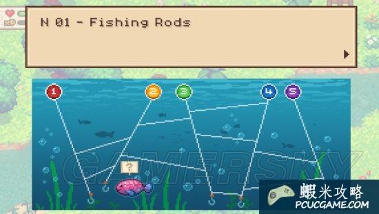 進化之地 Evoland2釣魚答案及原理分析 釣魚答案是什麼