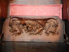 DSCN1910 (Richard Paul Carey) Tags: cathedral medieval carlisle misericords carvedwoodwork