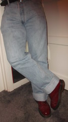 DSCF6693 (rugby#9) Tags: original feet yellow cherry boot hole boots lace dr air 14 7 icon wear size jeans levi stitching comfort sole doc levis cushion soles dm docs eyelets drmartens bouncing airwair docmartens 501 martens dms 501s cushioned wair levi501s doctormarten 14hole yellowstitching