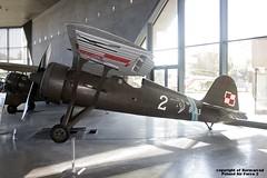 2 Polish Aviation Museum Krakow 20-08-2015 (Burmarrad) Tags: 2 museum force aircraft aviation air poland krakow polish airline registration pzl p11c 20082015