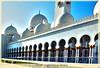 Grand Mosque of Abu Dhabi (Pelekis panagiotis) Tags: travel tour religion grand mosque tourist abu dhabi