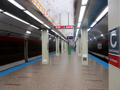 Clark/Division Entrance Reopens (cta web) Tags: chicago station subway cta mezzanine redline entry goldcoast nearnorth ctaredline