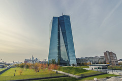 ECB on a day in Fall (Fenchel & Janisch) Tags: europe bank ostend ecb ezb zentralbank