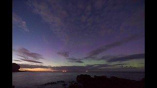 'Anglesey Aurora Timelapse' - Oct 7th 2015