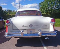 1955 Packard Clipper Custom Constellation (crusaderstgeorge) Tags: cars 1955 sweden sverige custom classiccars clipper constellation packard redandwhite americancars redcars americanclassiccars valbo 1955packardclippercustomconstellation