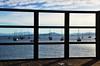 sempre te enquadrando... em mim! (Ruby Ferreira ®) Tags: fence boats bay pier shadows barcos hills montanhas santoantoniodelisboa píer southernbrazil