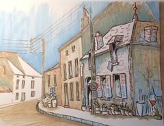 (Kate_Lokteva) Tags: art sketch drawing sketchbook marker draw markers artworks letraset promarkers