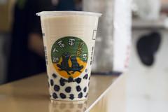milk tea stand (roboppy) Tags: taiwan taipei boba streetfood foodstand milktea gongguan bobatea
