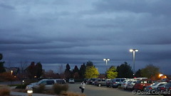 November 4, 2015 - Cloud Rows over Broomfield. (David Canfield)