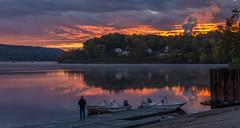 _DSC0596-2 (johnjmurphyiii) Tags: 06457 autumn clouds connecticut connecticutriver dawn harborpark middletown originalnef sky sunrise tamron18270 usa johnjmurphyiii cloudsstormssunsetssunrises fave4
