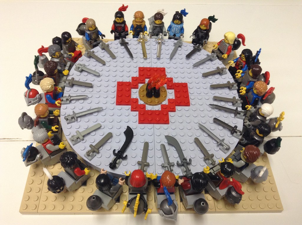 The world 39 s newest photos of lancelot and lego flickr hive mind - Knights of the round table lego ...