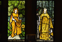 Stained glass at Cragside House (Tony Worrall) Tags: county uk england window glass parish stream tour shine open place country north stainedglass visit location northumberland area colourful lovely sunlit northern update attraction countryhouse rothbury cragside cragsidegardens cartington welovethenorth 2015tonyworrall