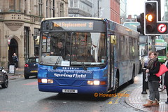 Springfield F14 HOW (ex S453 KCW) (SelmerOrSelnec) Tags: bus volvo springfield wright railreplacement b10ble s453kcw overallad cmaintree f14how