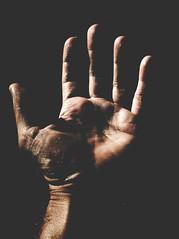 the dark side (maurizio siani) Tags: november italy dark hands italia novembre hand pentax side mani ombre mano napoli naples autunno nero amore luce linea dita buio aperta leggere passione scuro segni palmo linee oscurit apertura k30 chiedere aiutare