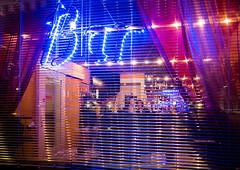 301/365: Bar (haslo) Tags: street blue red colors bar night lights evening bright olympus omd 100x2015 115in2015 em5ii