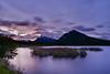 Slow rising (NUNZG) Tags: sunrise canadian rockies alberta lakes vermilion reflection long exposure mountains landscape nature outdoor