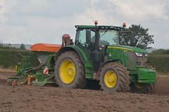 John Deere 6175R Tractor with an Amazone ADP 3000 Special Seed Drill & Power Harrow (Shane Casey CK25) Tags: john deere 6175r tractor amazone adp 3000 special seed drill power harrow jd green rathcormac onepass one pass sow sowing set setting drilling tillage till tilling plant planting crop crops cereal cereals county cork ireland irish farm farmer farming agri agriculture contractor field ground soil dirt earth dust work working horse horsepower hp pull pulling machine machinery grow growing nikon d7100 winter barley traktor tracteur traktori trekker trator ciągnik corn