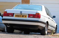 H563 NFX (Nivek.Old.Gold) Tags: 1991 bmw 735i se auto