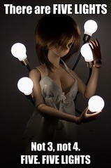 There are FIVE LIGHTS (PatchouliW) Tags: dollfiedream dd startrek lights negligee