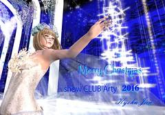 Merry Xmas 2016 (kyoka jun) Tags: secondlife arty showdance paformance snowprincess debue show