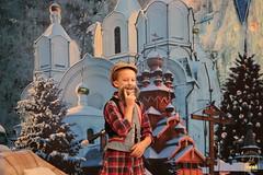 04. Sketch of Bogorodichnoe Village at the Assembly Hall / Сценка с.Богородичное в актовом зале 08.01.2017