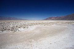White Waters (Riccardo Maria Mantero) Tags: clouds mantero riccardomantero riccardomariamantero badwaters blue deathvalley desert landscape outdoors salt sky travel usa water