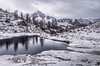First snow Fremamorte (Keith Kingston) Tags: provencecalender snow fremamorte le boreon st martin vesubie provence maritime alpes france winter mountain lake reflection wild landscape cold keith kingston