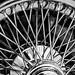 Detail Jaguar wheel