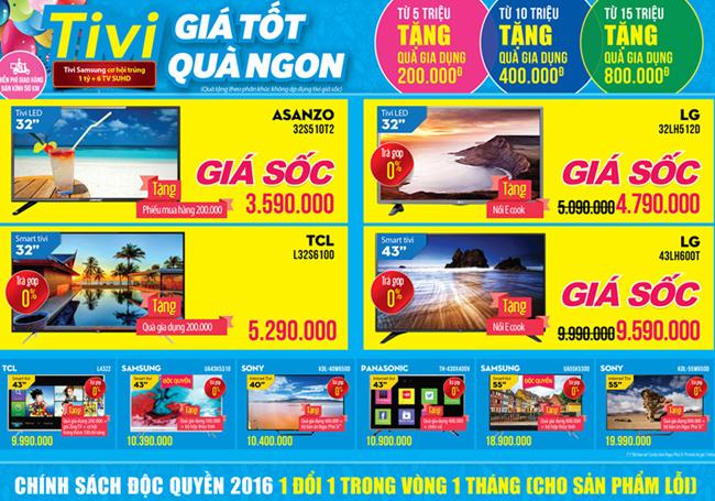 Khai trương siêu thị Điện máy XANH Duyên Hải, Cần Giờ