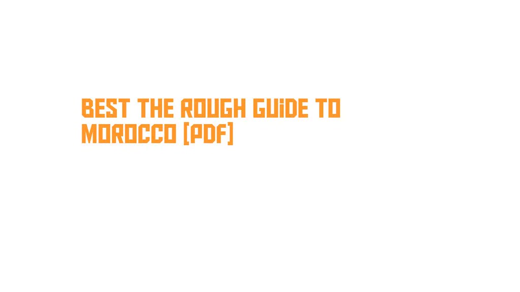 rough guides pdf free download