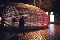 Aarhus Nights-3 (cohenvandervelde) Tags: 35mm 365project 550d apsc aarhus city cohenvandervelde creativecommons dof denmark scene scout snap souls worldstreetphotography blue canon color colour depthoffield gold lights people primelens purple silhouette street streetphotography streettog sunset tunnel