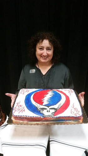 The Goddess and the Grateful Dead Cake