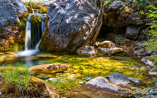 Lovely Creek at Mount Olympus