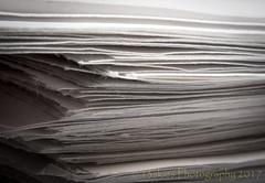 Papercut (HMM) (13skies) Tags: happymacromondays happymacromonday whitepaper writing blank used rouse edges corners paper white macromondaywhitepaper justwhitepaper macro stack