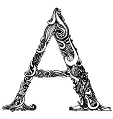 Capital Letter A - Elegant Vintage Swirly Style (MahmoudEz) Tags: alphabet art banner black calligraphy capital card classic curl decor decoration decorative design elegance elements filigree floral font frame graphic greeting handwriting illustration isolated letter letters old ornament ornamental pattern retro romance romantic script scroll sign sketch style swirl symbol tattoo text type typography vector victorian vintage white word write